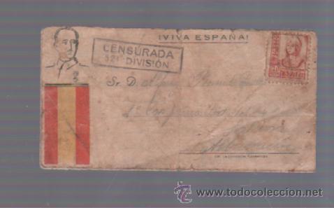 CENSURA MILITAR. 52º DIVISION. VER FOTOS (Militar - Guerra Civil Española)
