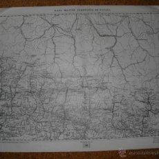 Militaria: 1936 HOJA 17 DEL MAPA ITINERARIO MILITAR PLAN JACA SALVATIERRA. Lote 50770835