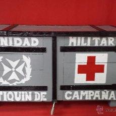 Militaria: SANIDAD MILITAR. BOTIQUÍN DE CAMPAÑA. DE LA GUERRA CIVIL ESPAÑOLA.. Lote 51248402