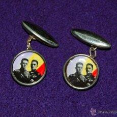 Militaria: GEMELOS REPUBLICANOS DE GALAN Y GARCIA HERNANDEZ (HEROES DE JACA). REPUBLICA ESPAÑOLA 1931- 1936. Lote 191507242