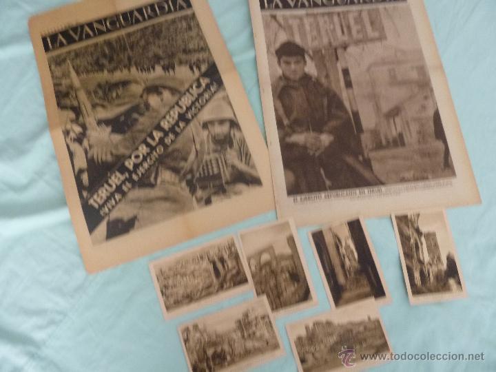 BATALLA TERUEL..TERUEL REPUBLICANO ..TOMADO POR LA REPUBLICA..POSTALES RUINAS... (Militar - Guerra Civil Española)