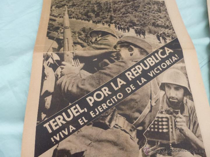 Militaria: batalla teruel..teruel republicano ..tomado por la republica..postales ruinas... - Foto 2 - 52886045