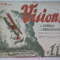 Militaria: VISIONS DE GUERRA I RETAGUARDIA . HISTORIA GRAFICA DE LA REVOLUCION.BILINGÜE ESPAÑOL-CATALÁN , 1937. Lote 52988053
