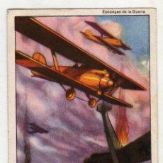 Militaria: EPOPEYAS DE LA GUERRA AVIACION LA GLORIOSA 1936 Nº10. Lote 53770579