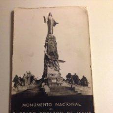 Militaria: POSTAL ANTIGUA CERRO DE LOS ANGELES (MADRID). Lote 54641189