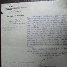 Militaria: 1937 GUERRA CIVIL REQUISA CAMION BUICK C-5373. Lote 54836577