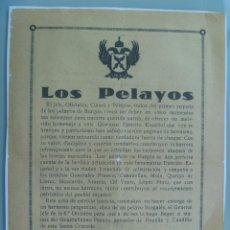 Militaria: GUERRA CIVIL - CARLISMO - REQUETÉ : PASQUIN DE PELAYOS DE BURGOS, 1937. Lote 55236139