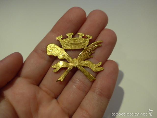 ANTIGUA INSIGNIA REPUBLICANA, GUERRA CIVIL, RARA (Militar - Guerra Civil Española)
