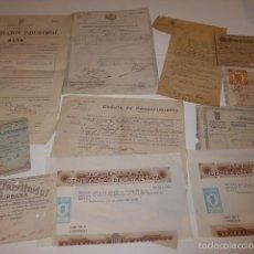 Militaria: ANTIGUO LOTE DE DOCUMENTOS VARIOS DE REPUBLICA, GUERRA CIVIL, ALFONSO XIII... VARIEDAD. Lote 57981848