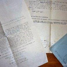Militaria: DOCUMENTO PLIEGO DE CARGOS IZQUIERDISTA 1939 DEPURACION AYUNTAMIENO BARCELONA GUERRA CIVIL. Lote 58073277