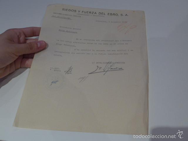 ANTIGUO DOCUMENTO DE COMITE CONTROL CNT UGT, BARCELONA, 1936, GUERRA CIVIL (Militar - Guerra Civil Española)