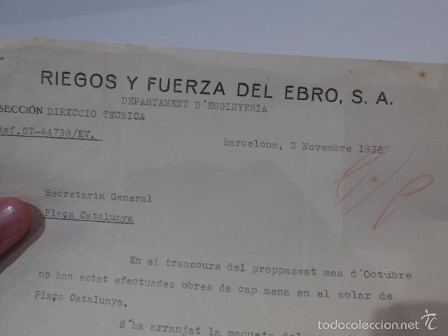 Militaria: Antiguo documento de comite control CNT UGT, barcelona, 1936, guerra civil - Foto 2 - 58102829