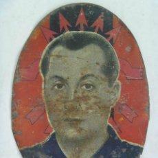 Militaria: GUERRA CIVIL - FALANGE : CHAPA DE JOSE ANTONIO , PROFETA . 10 X 14 CM. Lote 60093751