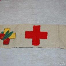 Militaria: BRAZALETE SANITARIO Y PARCHE FRENTES Y HOSPITALES. Lote 64626663