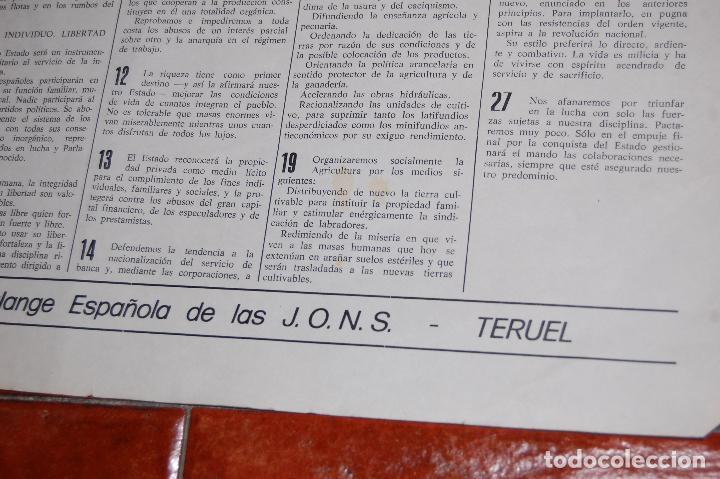 Militaria: FALANGE , TERUEL , GUERRA CIVIL - Foto 2 - 65971414
