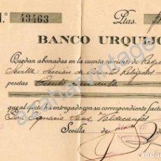 Militaria: SEVILLA,1937, GUERRA CIVIL, DONATIVO A LOS REQUETE DE SEVILLA. Lote 66154642