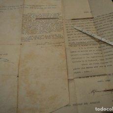 Militaria: SOLICITUD DE REINGRESO EN EL EJERCITO ACABADA LA GUERRA CIVIL ESPAÑOLA 1939. Lote 68866917