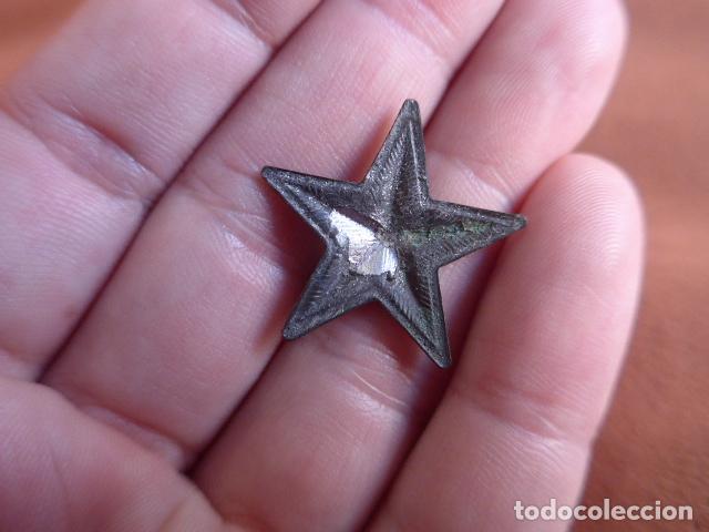Militaria: Antigua insignia de estrella republicana de guerra civil, original - Foto 2 - 71546171
