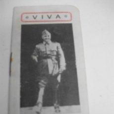 Militaria: ALMANAQUE DE BOLSILLO 1937 ORIGINAL DE CAMPAÑA PARA SOLDADO NACIONAL GUERRA CIVIL. Lote 77902033