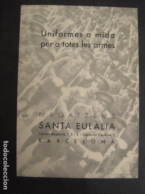 Militaria: GUERRA CIVIL- PROPAGANDA-MAGATZEMS STA. EULALIA -UNIFORMES TOTES LES ARMES- VER FOTOS - (V- 9516) - Foto 5 - 78638493