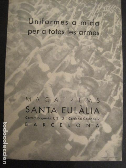 Militaria: GUERRA CIVIL- PROPAGANDA-MAGATZEMS STA. EULALIA -UNIFORMES TOTES LES ARMES- VER FOTOS - (V- 9516) - Foto 6 - 78638493