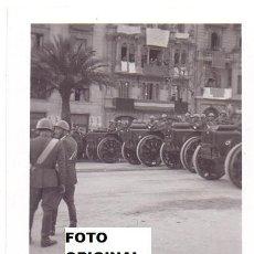 Militaria: DESFILE SOLDADOS CTV ITALIANOS LEON 1939 GUERRA CIVIL. Lote 79629649