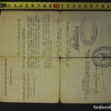 Militaria: DOCUMENTO SERVICIOS ELÉCTRICOS DEL EJÉRCITO DE 1939-3-17. Lote 81722048