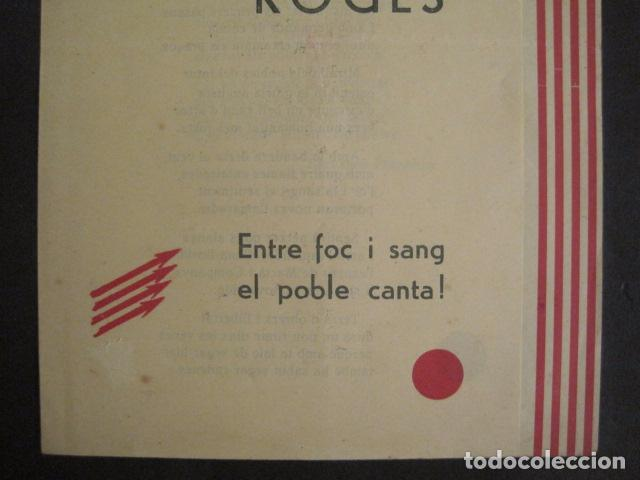 Militaria: SAGETES ROGES-ENTRE FOC I SANG-CATALUNYA NOVA-S.PERARNAU-ESQUERRA REPUBLICANA-GUERRA CIVIL-(V-10.354 - Foto 3 - 82308856