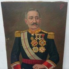 Militaria: ANTIGUO RETRATO DE MILITAR CONDECORADO PINTADO POR VENTURA DE 1928.ÓLEO LIENZO.. Lote 85673396