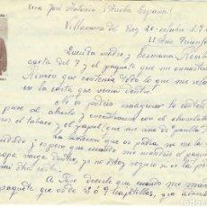 Militaria: CARTA MILITAR,(1937).. Lote 88860564