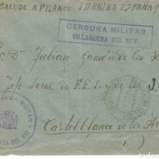 Militaria: CARTA CENSURA MILITAR. . Lote 88861058