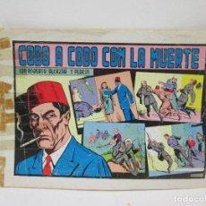 Militaria: CODO A CODO CON LA MUERTE - CON ROBERTO ALCAZAR Y PEDRIN. Lote 91444425