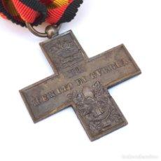 Militaria: CRUZ ITALIANA DE LA GUERRA CIVIL ESPAÑOLA (1936-1939). CRUZ AL MÉRITO DE GUERRA ORIGINAL.. Lote 92192220