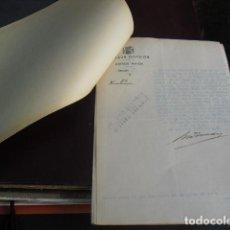Militaria: 1937 EXPEDIENTE POR OCULTACIÓN DE UN CAMIÓN FORD A VECINOS DE CARNOTA -CORUÑA. Lote 95943311
