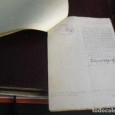 Militaria: 1937 EXPEDIENTE A PROPIETARIO OMNIBUS FARGO POR TRANSPORTE ILEGAL DE PESCADO. Lote 95943435