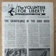 Militaria: PERIODICO OFICIAL - BRIGADAS INTERNACIONALES Nº 31 SEP. 1938 - GUERRA CIVIL - VOLUNTEER FOR LIBERTY. Lote 96152939