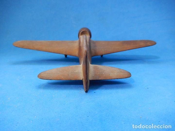 Militaria: Antiguo modelo / maqueta avión. Italiano. ¿ Fiat G.50, de finales de la Guerra Civil Española? - Foto 10 - 98644379