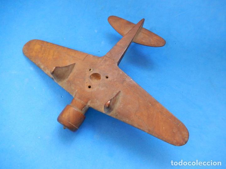 Militaria: Antiguo modelo / maqueta avión. Italiano. ¿ Fiat G.50, de finales de la Guerra Civil Española? - Foto 15 - 98644379