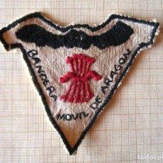Militaria: FALANGE BANDERA MOVIL ARAGON. Lote 102030819