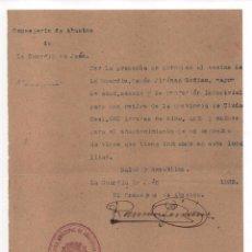 Militaria: LA GUARDIA - JAEN- CONSERJERIA DE ABASTO, REPUBLICA, VER FOTO. Lote 102498763