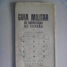 Militaria: GUERRA CIVIL: CUARTEL GENERAL GENERALISIMO, GUIA CARRETRAS Nº 7: SALAMANCA, CACERES . MARZO 1939. Lote 102709027