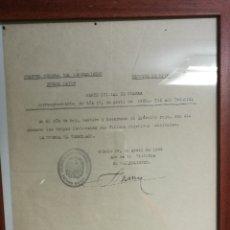 Militaria: PARTE DE GUERRA. Lote 58249501