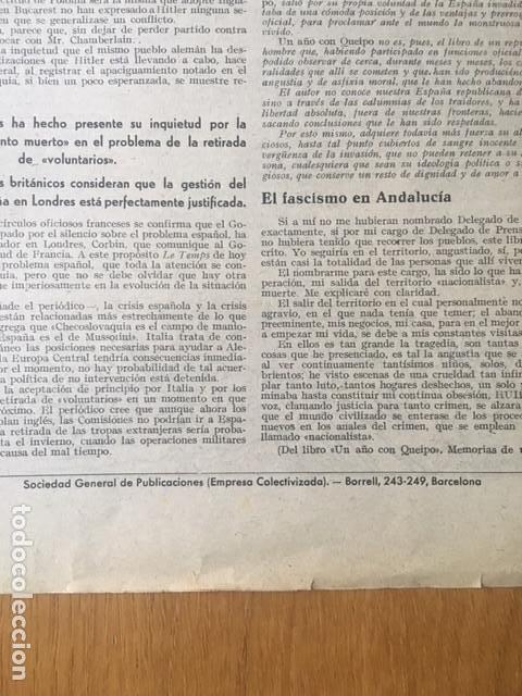 Militaria: Rarísima, Bayonetas internacionales. Organo 45 división Brigadas internacionales, 1938, guerra civil - Foto 7 - 107264803