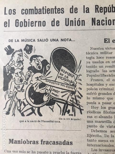 Militaria: Rarísima, Bayonetas internacionales. Organo 45 división Brigadas internacionales, 1938, guerra civil - Foto 8 - 107264803