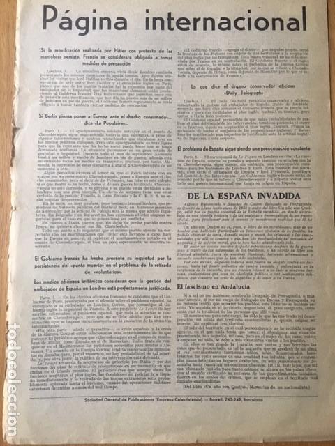 Militaria: Rarísima, Bayonetas internacionales. Organo 45 división Brigadas internacionales, 1938, guerra civil - Foto 10 - 107264803