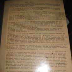Militaria: RECOMPENSAS ASCENSOS POR SERVICIOS EN GUERRA CIVIL CORONEL JESUS BADILLO BATALLA BRUNETE DE TERUEL. Lote 108007707