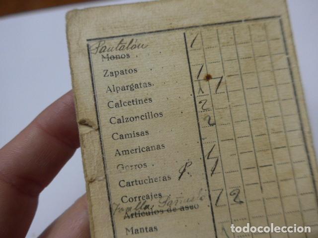 Militaria: * Antiguo carnet republicano original de militar afiliado UGT de Gandia. Valencia. Guerra civil. ZX - Foto 8 - 111898919