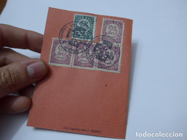 Militaria: * Antiguo carnet republicano original de brigadas internacionales, Italia. SRI. Guerra civil. ZX - Foto 5 - 111904115