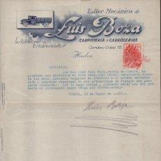 Militaria: HUELVA, TALLER MECANICO- LUIS BOZA- MARZO 1937, VER FOTO. Lote 112608259