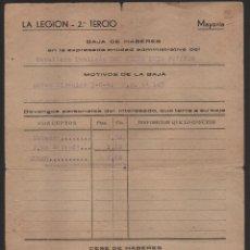 Militaria: RIFFIEN -LA LEGION - 2º TERCIO,CABALLERO MUTILADO- , -LEGIONARIO 4º BANDERA DEL TERCIO- VER FOTO. Lote 112690019